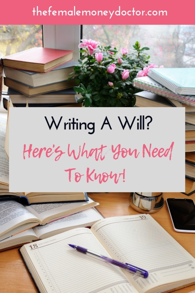 Writing a will title picture