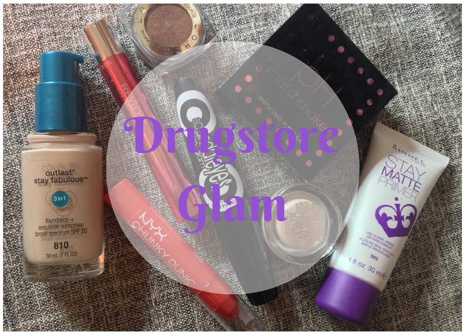 "My Favorite Products to get ""Drugstore Glam"""