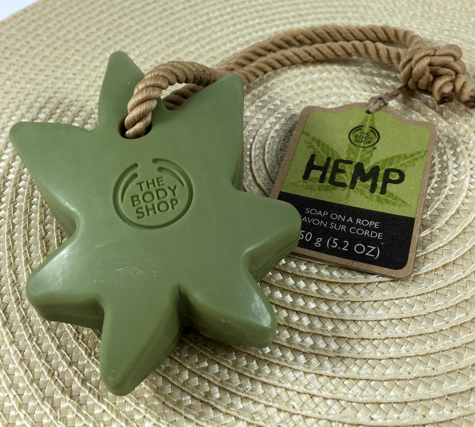 Hemp Soap On A Rope From The Body Shop The Feminine Files