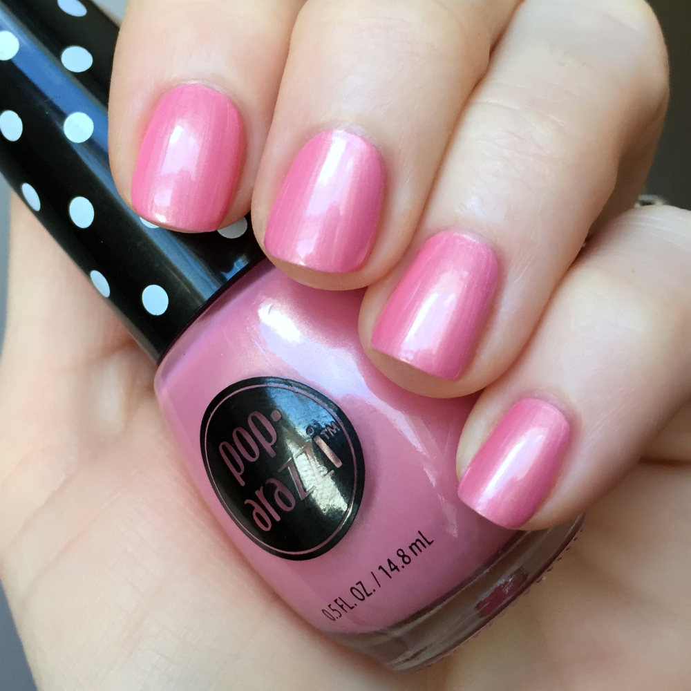Budget Beauty Pick: Pop-arazzi Nail Polish - The Feminine Files