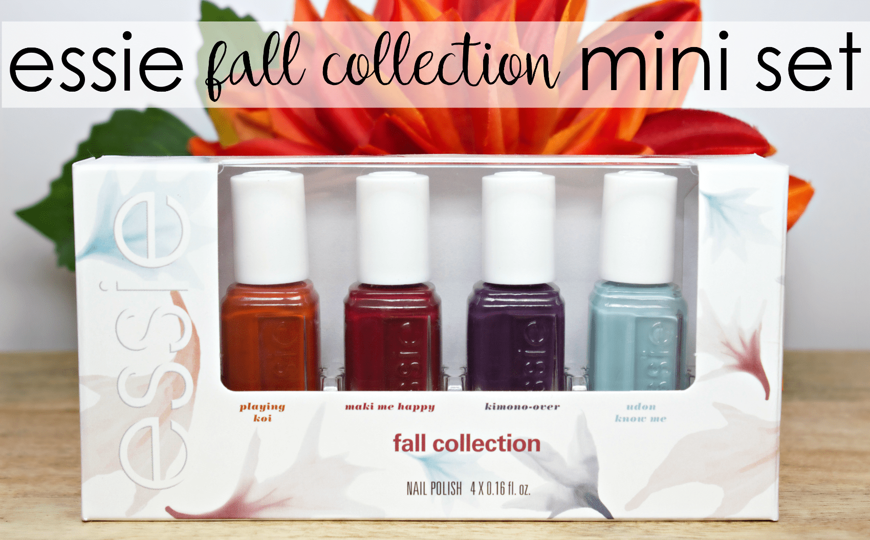 Essie 2016 Fall Collection Mini Set! - The Feminine Files