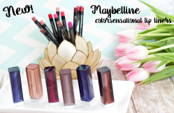 NEW! Maybelline ColorSensational Lip Liners & Lipsticks