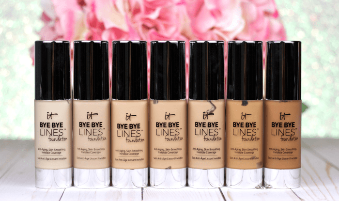 NEW! It Cosmetics Bye Bye Lines Foundation