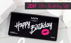 2017 Ulta Birthday Gift! – NYX Happy Birthday Palette
