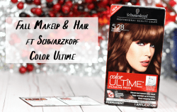 Monochromatic Fall Hair & Makeup Look ft Schwarzkopf Color Ultime