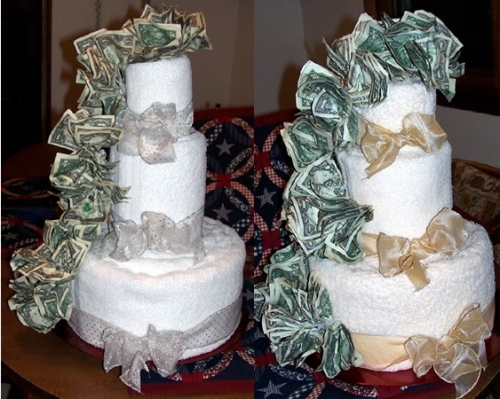 how much does a wedding cake cost    TheFeministBride     wedding cake cost  money cake money cake