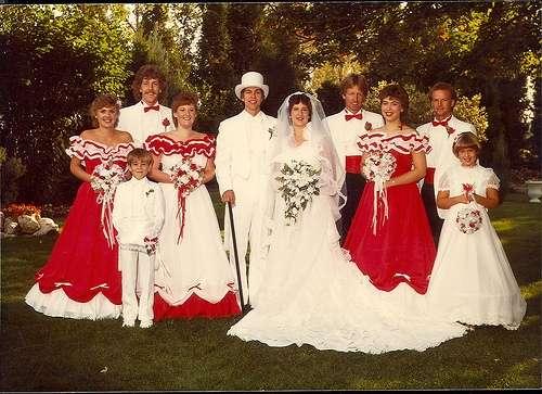 Bad Bridesmaid Dresses #TBT