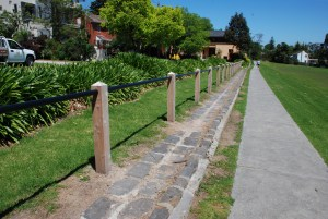 post and rail fence, cyprus post and rail fence,