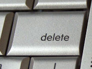computer delete button
