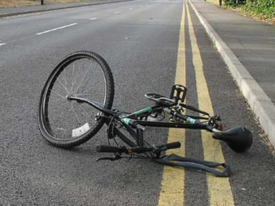 Wrecked Bicycle