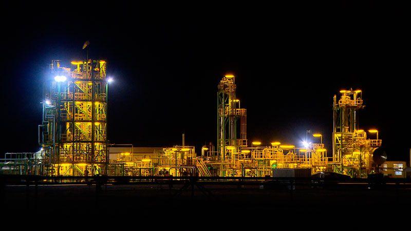 Chinchilla UCG works at night