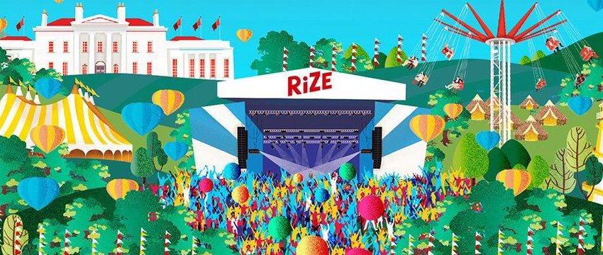 'New V Festival' for 2018 unveiled as RiZE Festival