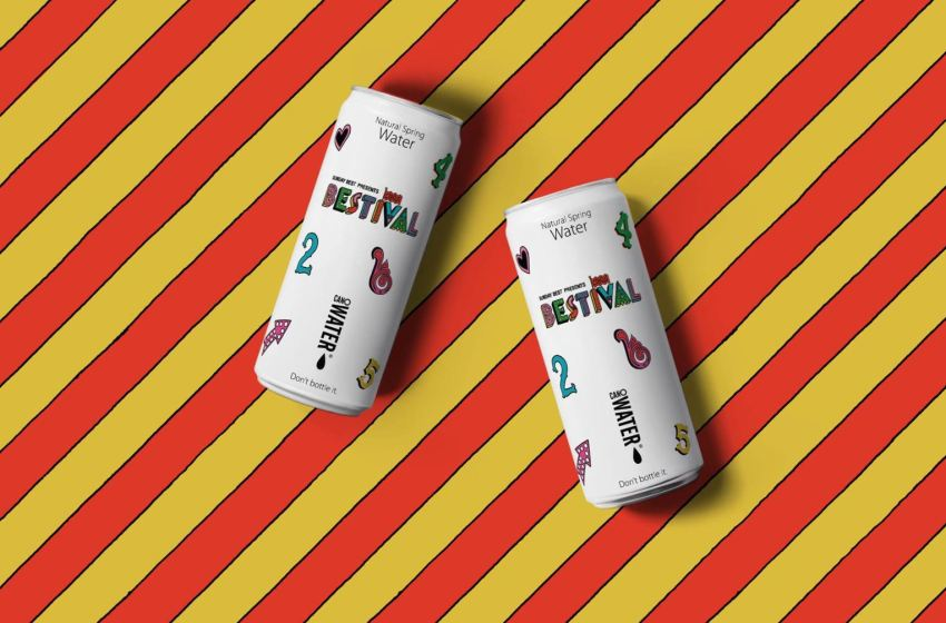 Bestival will only sell water in cans this year to reduce plastic use