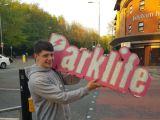 Parklife Sign Theft Caleb