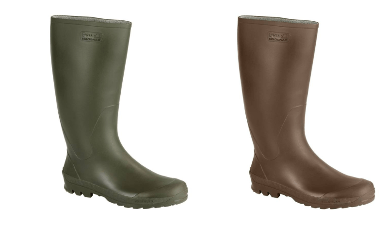 Green / Brown Wellies