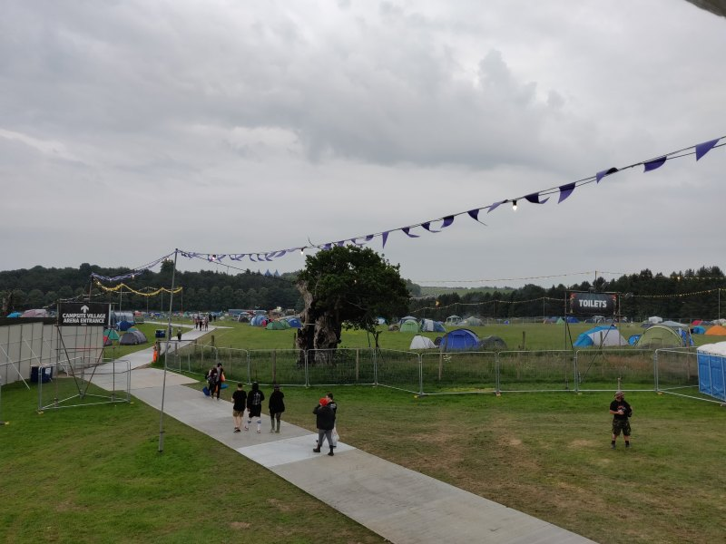 Download Festival Yellow Campsite on Thursday Evening