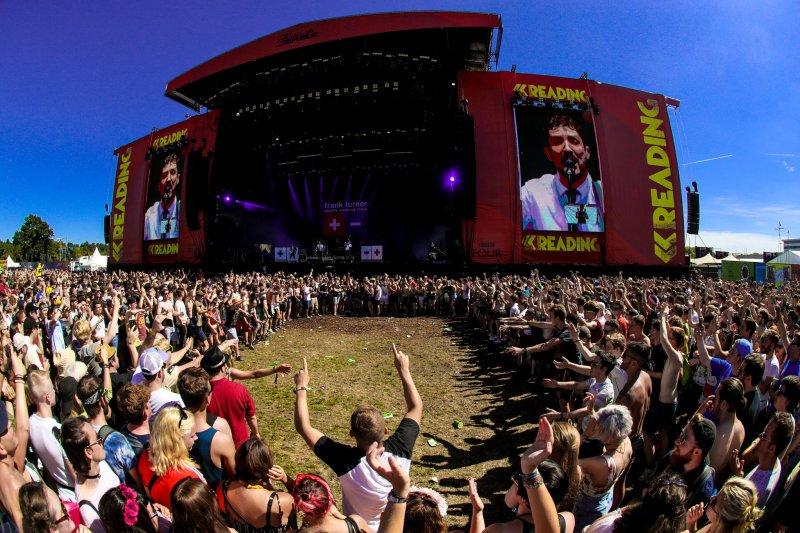 Reading Festival 2016 Crowd Mosh Pit