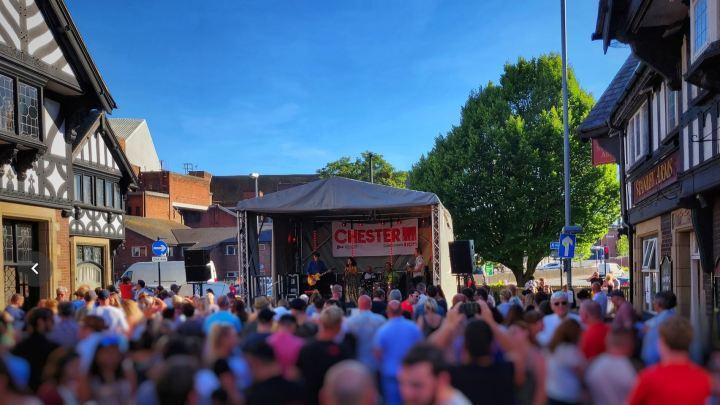 Chester Live 2018 Brook Street Festival