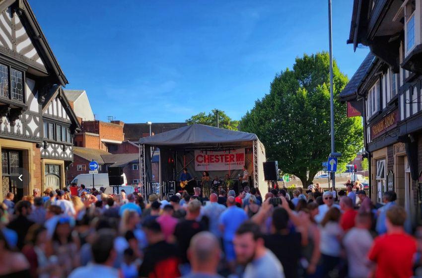 Chester Live Street Festival: Brook Street's own little carnival