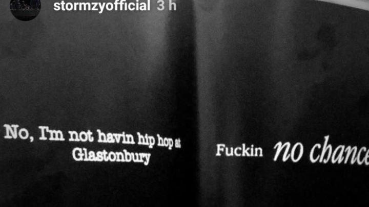Stormzy Glastonbury