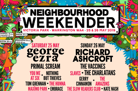 Neighbourhood Weekender 2019 Line-up