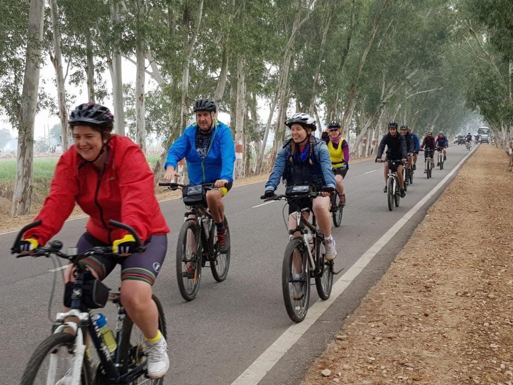 Elephant Family bike Ride India