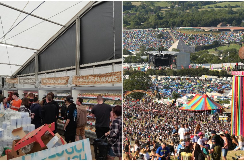 There's going to be a Co-op food store at Glastonbury this summer