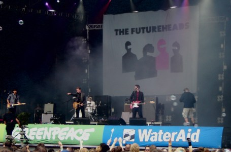 The Futureheads at Glastonbury