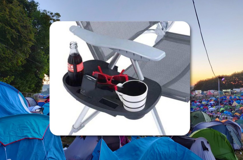 Win a side table for your camping chair with TheFestivals!