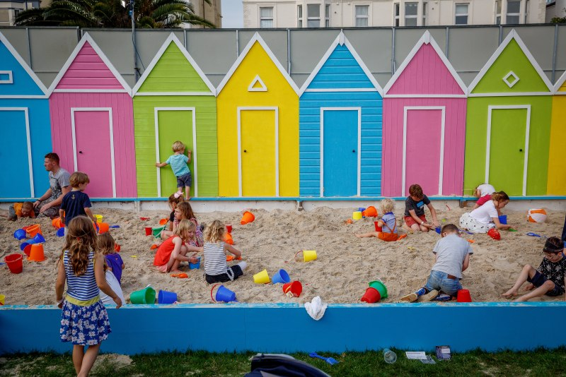 Victorious Beach huts