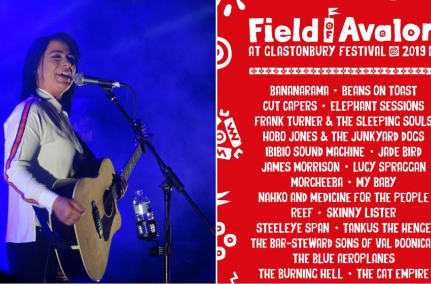 Field of Avalon line-up poster revealed for Glastonbury 2019