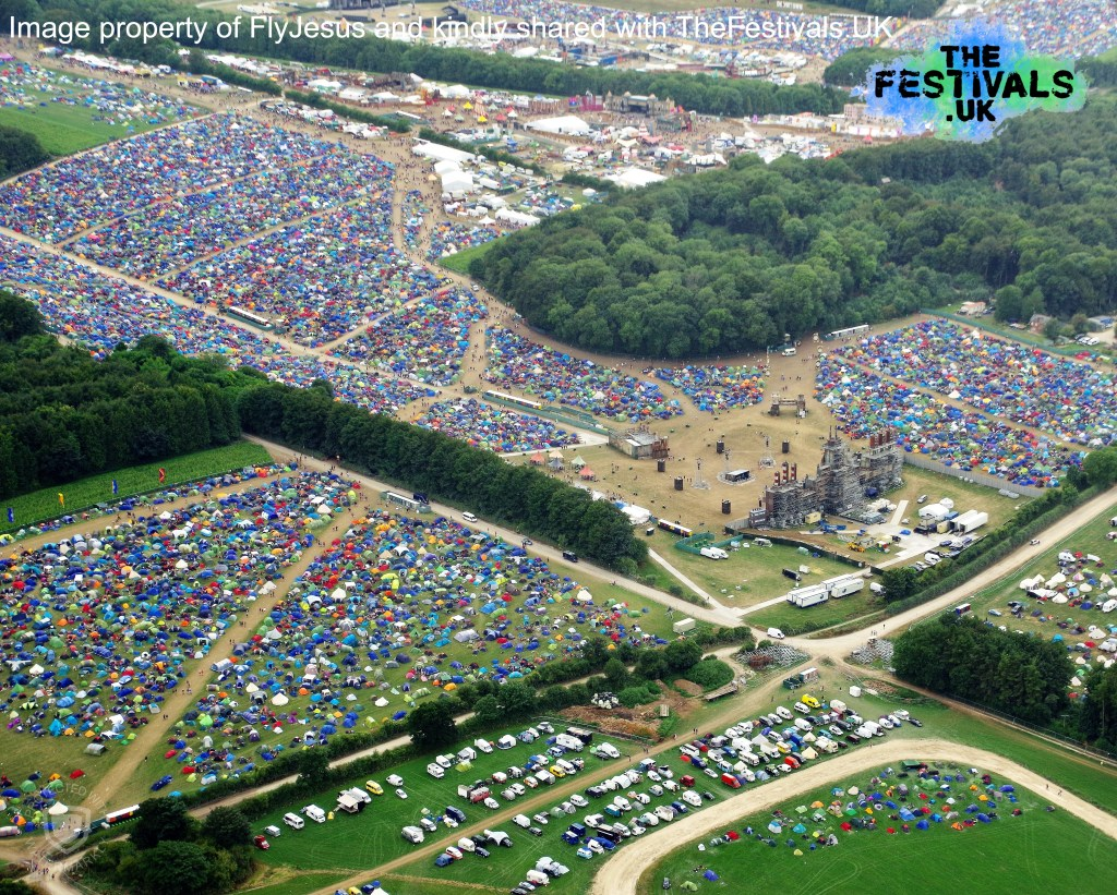 Boomtown 2018 Aerial Photo Sector 6