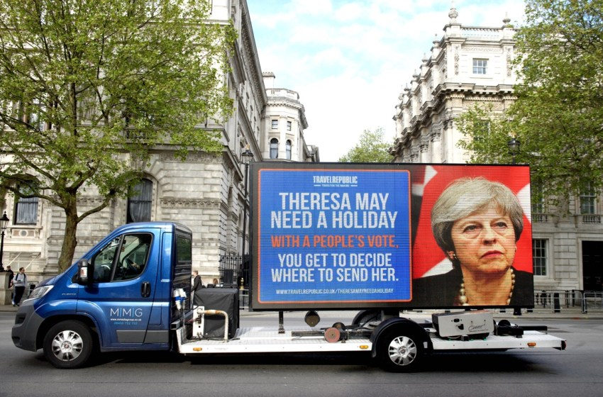 Choose where to send Theresa May on holiday in a 'People's Vote'