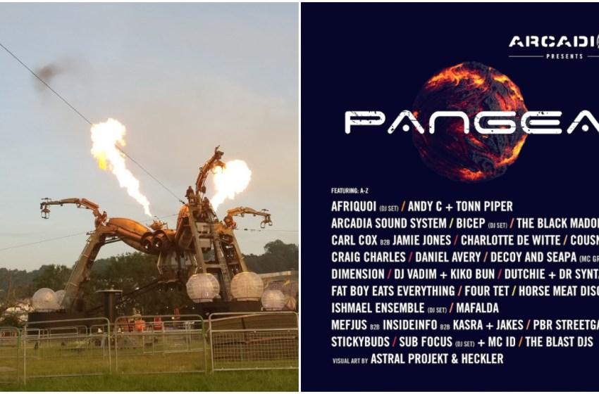 Glastonbury 2019: Arcadia Pangea line-up revealed
