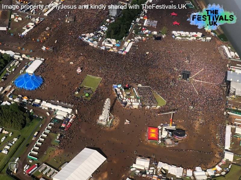 Download Festival 2019 Arena Aerial Photo