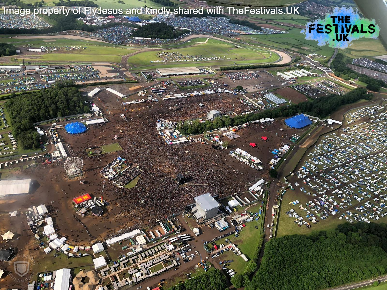 Download Festival 2019 Donington Park Aerial Photo