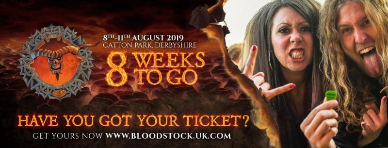 Bloodstock 8 weeks