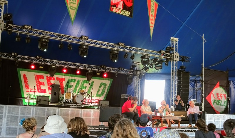 Glastonbury Leftfield The Future of Work with John McDonnell