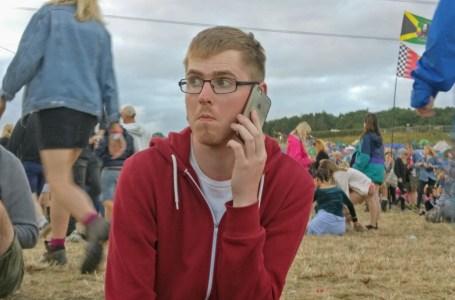 Phone Glastonbury