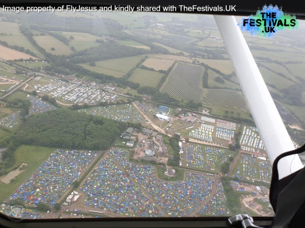 Isle of Wight Festival 2019 Aerial Photo