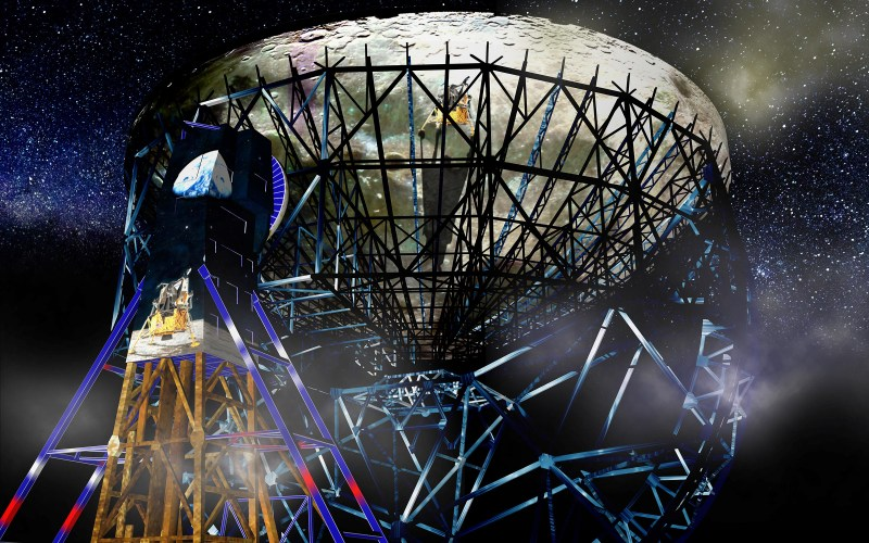 Jodrell Bank bluedot moon