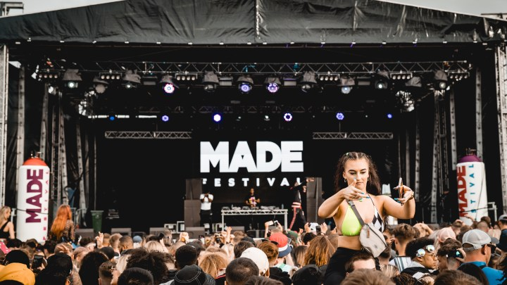 MADE Festival 2019 Main Stage Crowd
