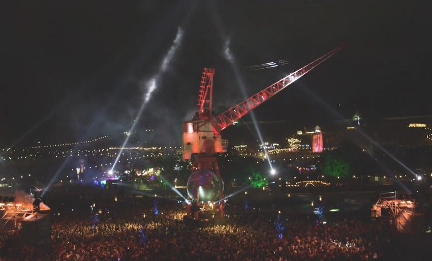 VIDEO: Watch Pangea's debut in Arcadia Glastonbury aftermovie