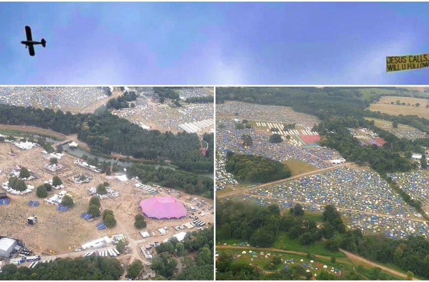 Exclusive aerial photos of Latitude Festival 2019 from the 'Jesus plane'