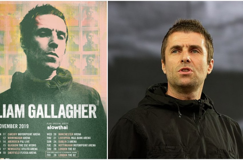 Liam Gallagher adds extra London date to UK arena tour