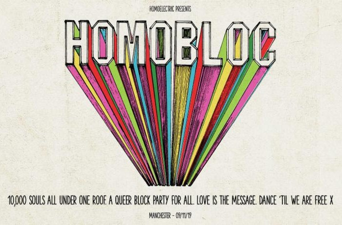 HomoElectric announce culture program for Homobloc Festival