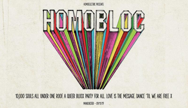 Homoelectric unveil line-up for their first festival at Manchester's Mayfield Depot: Homobloc