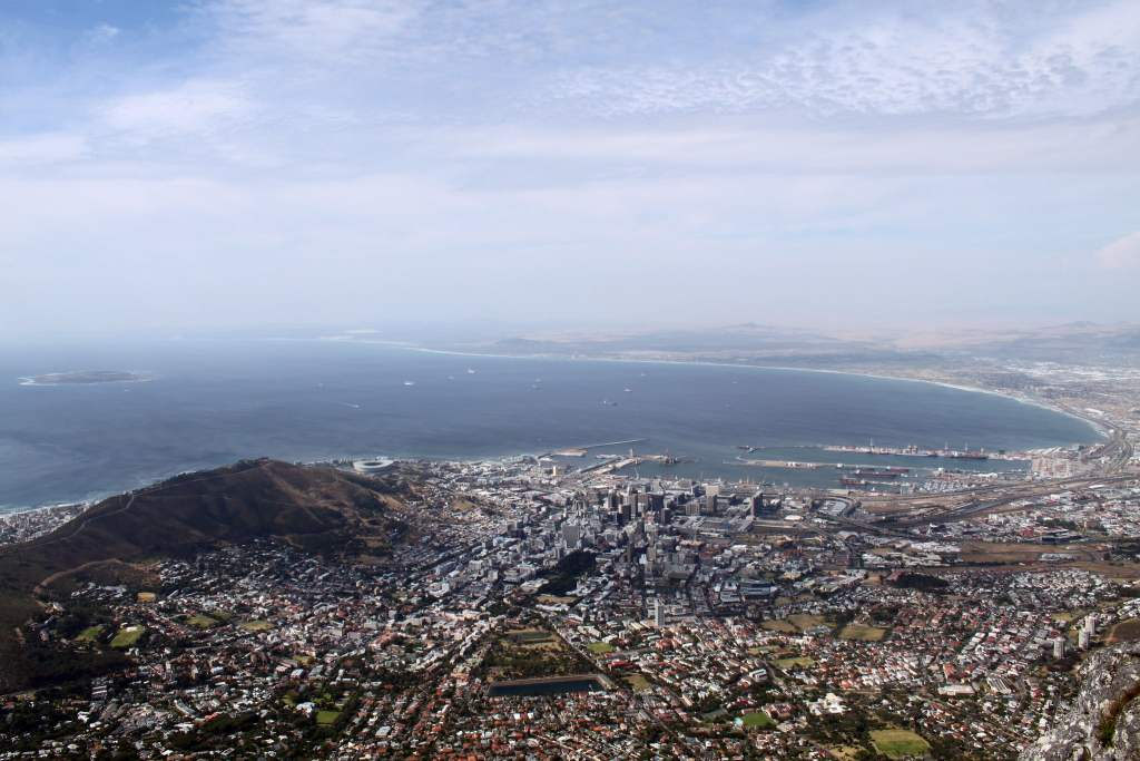 Cape Town skyskape