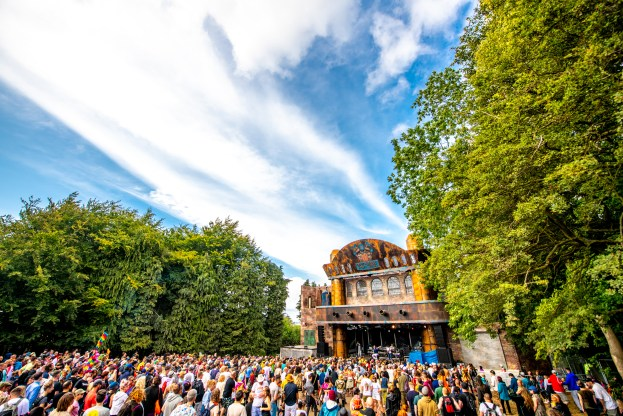 The Forge Stage at Boomtown 2019