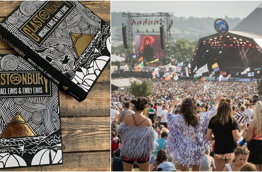 Glastonbury 50 named a 'Book of the Year' by The Times